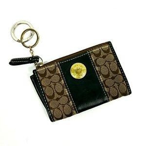 COACH Card Holder ID Case Coin Purse Keychain